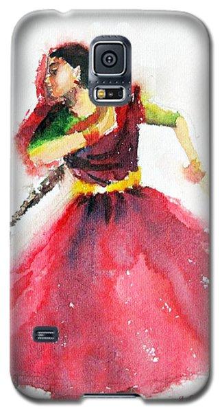 Kathak Dancer Galaxy S5 Case