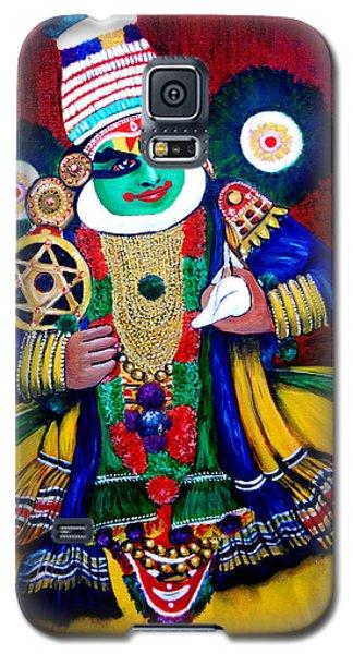 Kathakali..lord Krishna Galaxy S5 Case