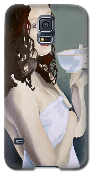 Katie - Morning Cup Of Tea Galaxy S5 Case