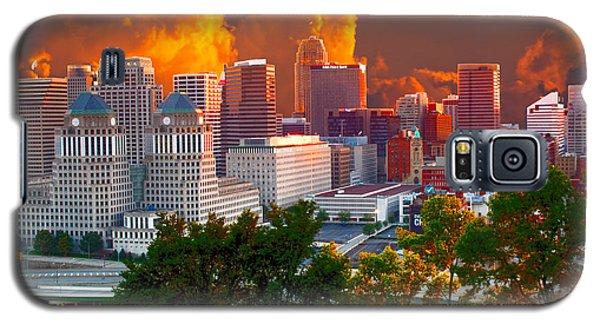 Katrina Storm Hits Cincinnati Galaxy S5 Case by Randall Branham