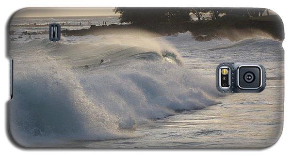Kauai - Brenecke Beach Surf Galaxy S5 Case by HEVi FineArt