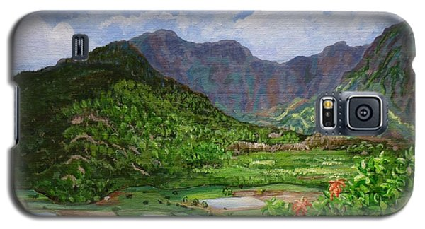 Kauai Taro Fields Galaxy S5 Case
