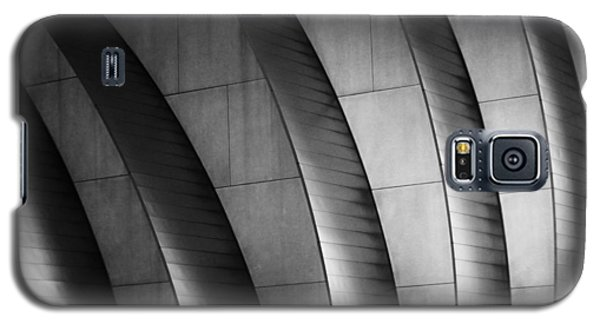 Kauffman Performing Arts Center Black And White Galaxy S5 Case