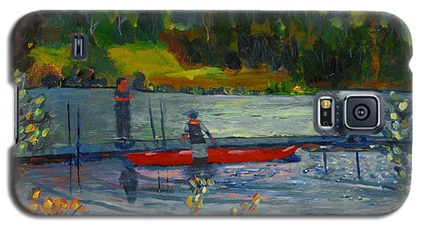 Kayak At Kittatinny Galaxy S5 Case