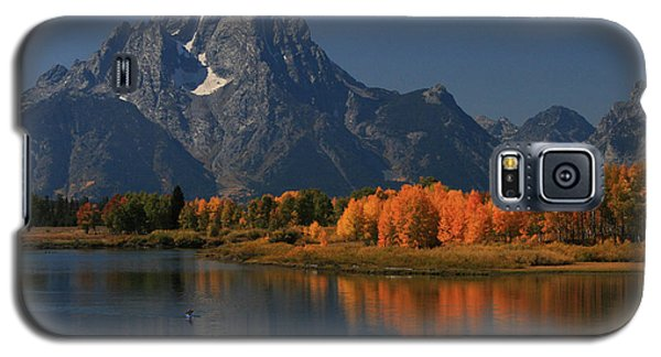 Kayak At Oxbow Bend Galaxy S5 Case by Clare VanderVeen