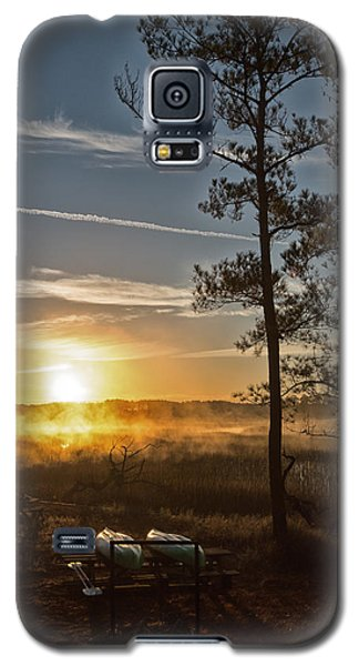 Galaxy S5 Case featuring the photograph Kayak Morning by Margaret Palmer