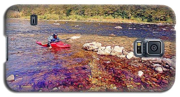 Kayaker Running A River Galaxy S5 Case