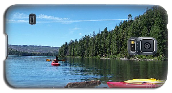 Kayaking On Suttle Lake Galaxy S5 Case