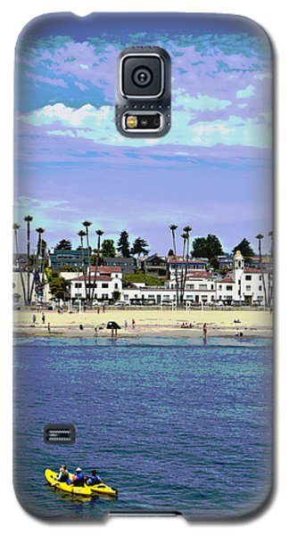 Galaxy S5 Case featuring the photograph Kayaking by Tom Kelly