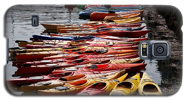 Kayaks At Rockport Galaxy S5 Case