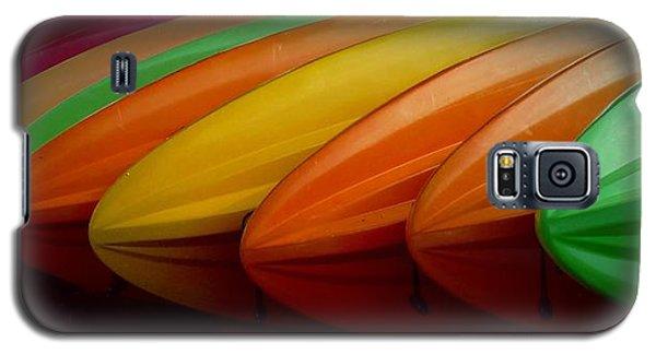 Kayaks Galaxy S5 Case by Patricia Strand