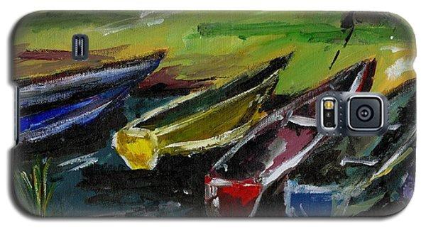 Kazinga Channel Boats Galaxy S5 Case