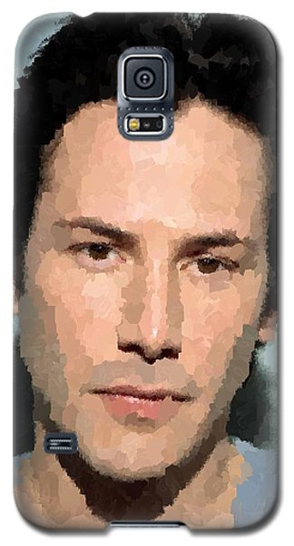 Keanu Reeves Portrait Galaxy S5 Case