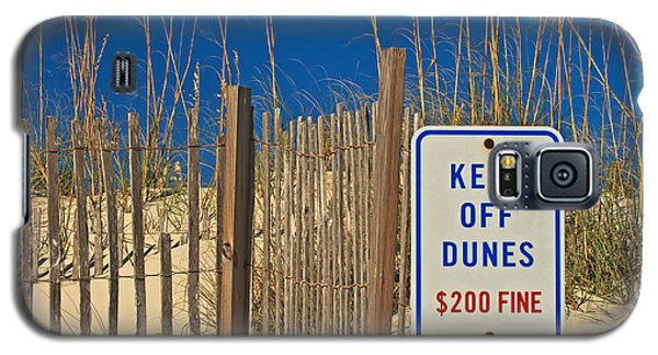 Keep Off Dunes Galaxy S5 Case