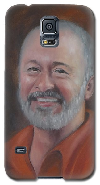 Galaxy S5 Case featuring the painting Keith by Carol Berning