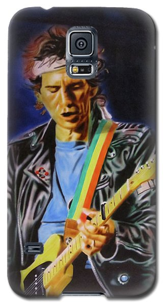 Keith Richards Of Rolling Stones Galaxy S5 Case