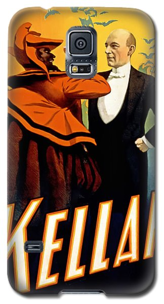 Kellar Toasts The Devil Galaxy S5 Case by Terry Reynoldson