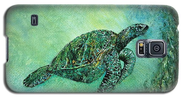 Kelp Forest Sea Turtle Galaxy S5 Case