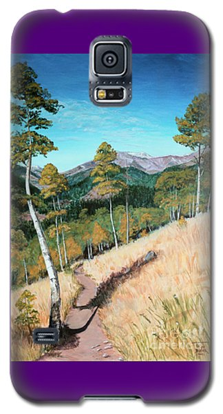 Kenosha Pass - Colrado Trail Galaxy S5 Case