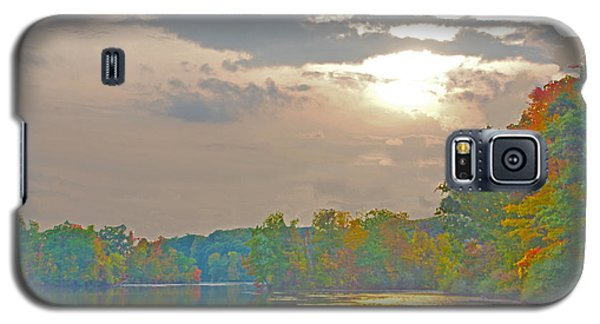 Kensington Autumn Sunset Galaxy S5 Case by Bill Woodstock