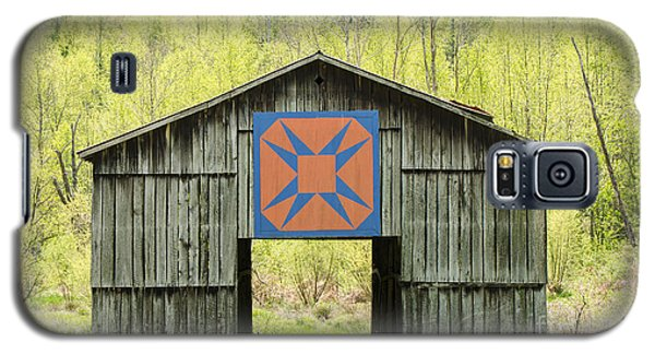 Kentucky Barn Quilt - Happy Hunting Ground Galaxy S5 Case
