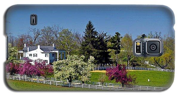 Kentucky Horse Farm Galaxy S5 Case by Randall Branham
