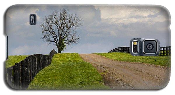 Kentucky Horse Farm Road Galaxy S5 Case
