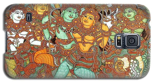 Kerala Mural Painting Galaxy S5 Case by Pg Reproductions