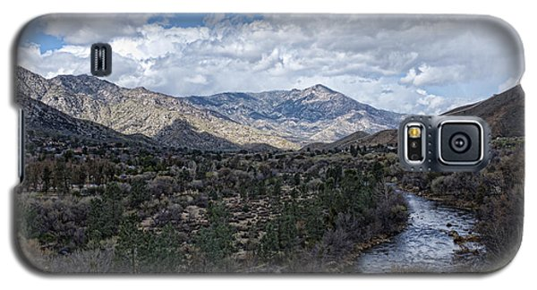 Galaxy S5 Case featuring the photograph Kern River At Ewing Falls by Hugh Smith