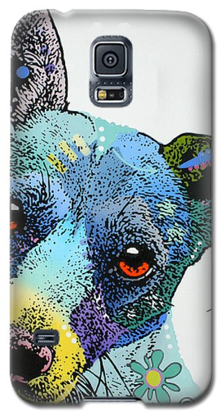 Galaxy S5 Case featuring the painting Jack by Luis Ludzska