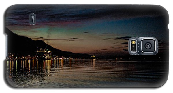 Ketchikan Sunrise With Ships Galaxy S5 Case by Timothy Latta