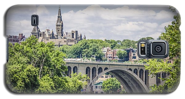 Key Bridge And Georgetown University Galaxy S5 Case