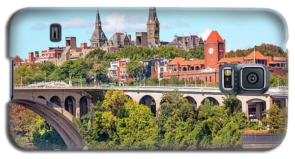 Key Bridge, Potomac River, Georgetown Galaxy S5 Case