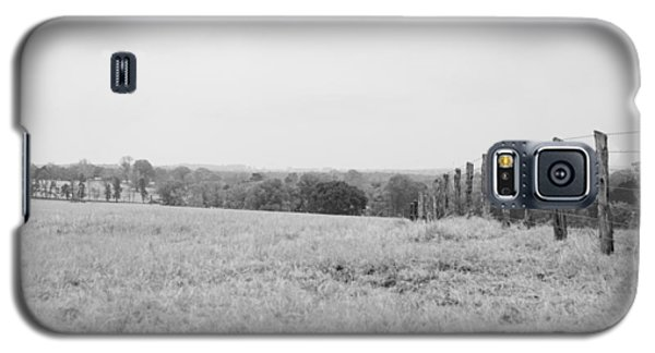 Key Hill 3 Black And White Galaxy S5 Case