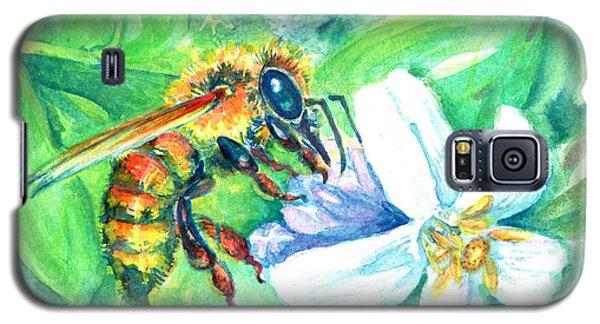 Key Lime Honeybee Galaxy S5 Case