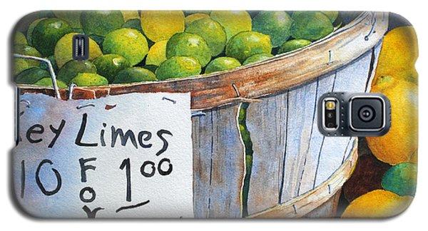 Key Limes Ten For A Dollar Galaxy S5 Case by Roger Rockefeller