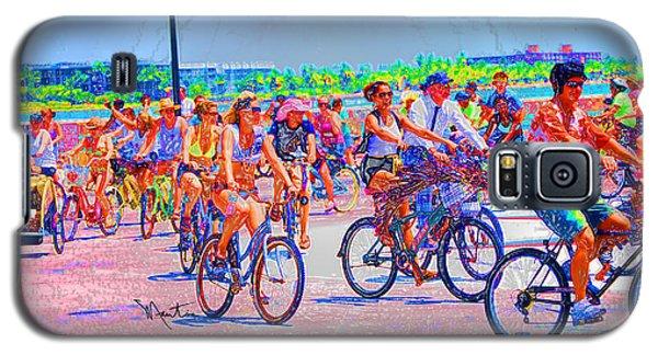 Key West Bike Ride Galaxy S5 Case