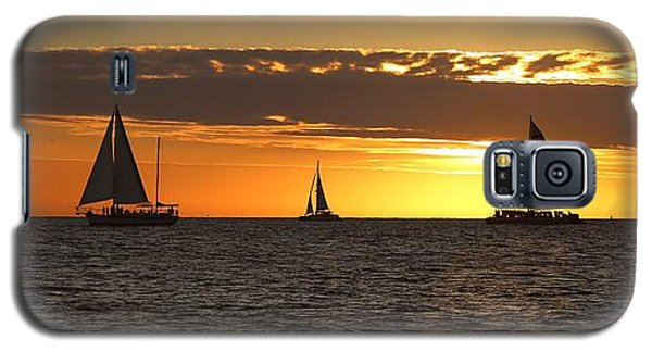 Key West Sunset Fleet Galaxy S5 Case