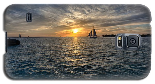 Key West Sunset Galaxy S5 Case by John Hoey