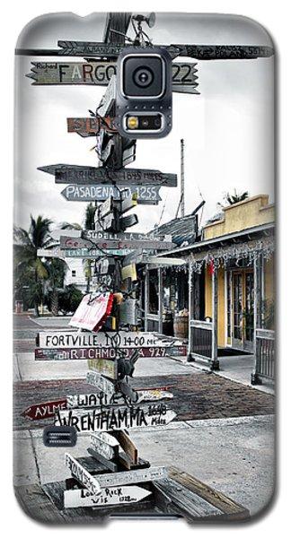 Key West Wharf Galaxy S5 Case
