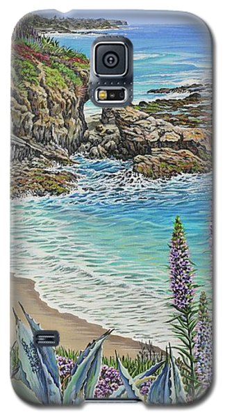 Keyhole Rock Laguna Galaxy S5 Case