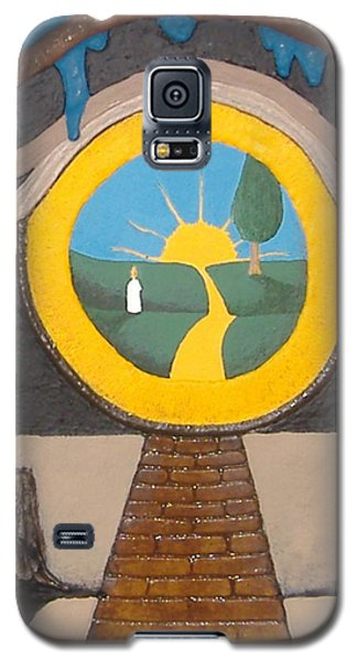 Keyhole Galaxy S5 Case by Steve  Hester