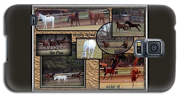 Horses Kickin It  Galaxy S5 Case
