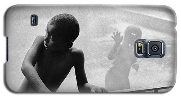 Kid In Sprinkler Galaxy S5 Case