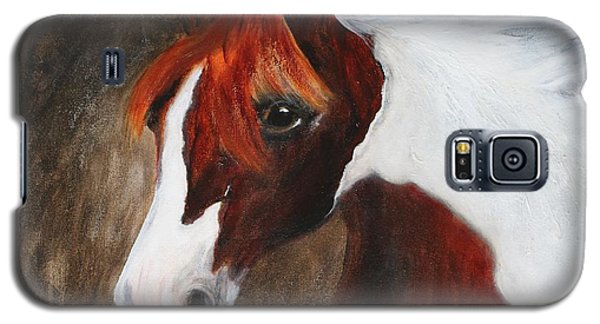 Galaxy S5 Case featuring the painting Kidden by Barbie Batson