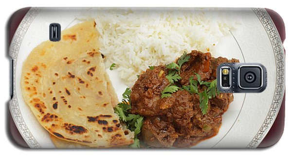 Kidney Masala Meal From Above Galaxy S5 Case