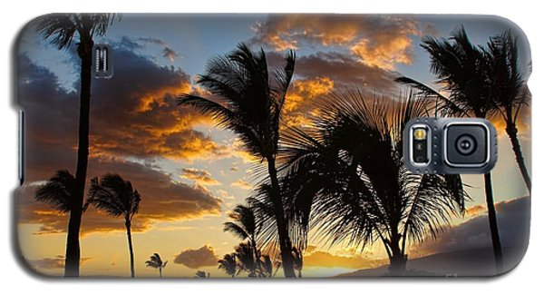 Kihei At Dusk Galaxy S5 Case by Peggy Hughes