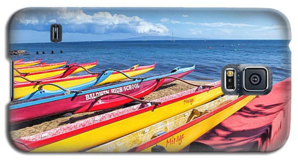 Galaxy S5 Case featuring the photograph Kihei Canoe Club 6 by Dawn Eshelman