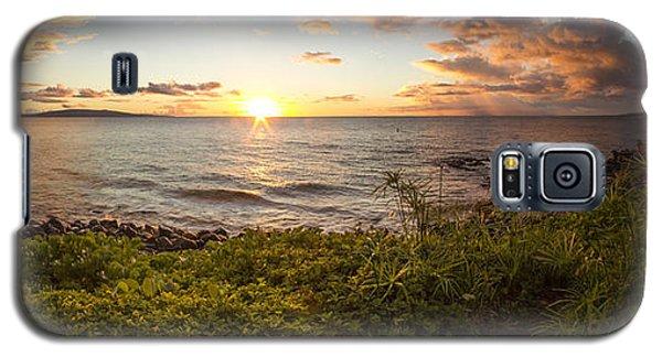 Kihei Sunset Panorama Galaxy S5 Case