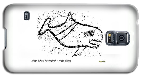 Killer Whale Petroglyph Galaxy S5 Case